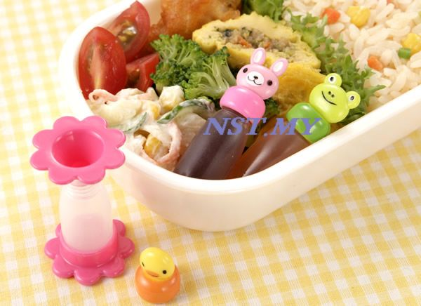 Japan Import Cute Rabbit+Frog+Chick Sauce Container