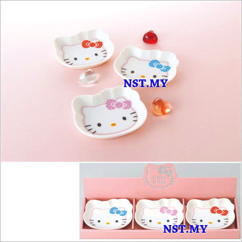 Hello Kitty Plate Gift Set