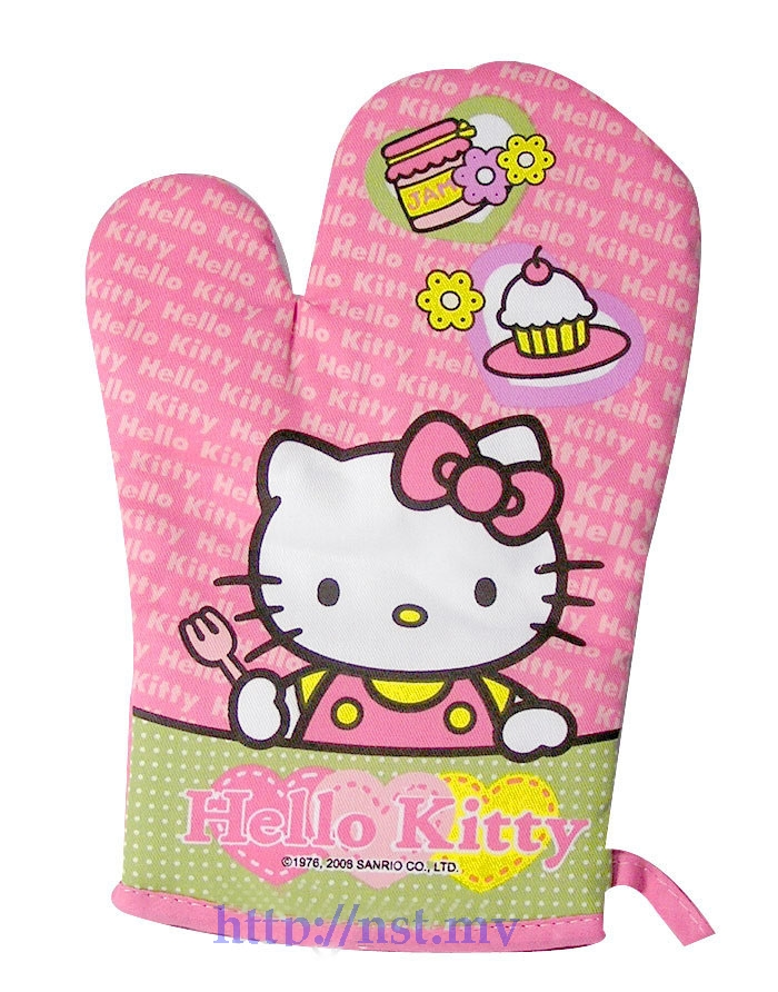 Kitty Sweet Pink Heat Resistant Glove