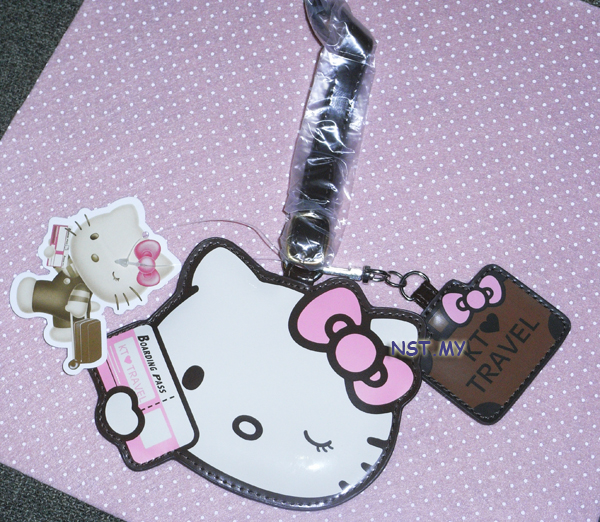 Hello Kitty Travel Tag
