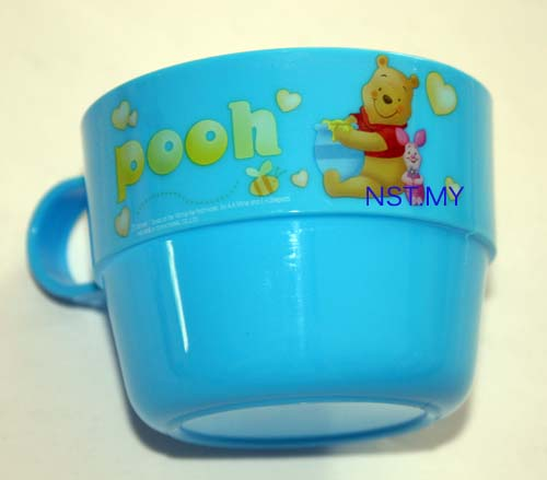 Winnie the Pooh Cup with handle (blue)
