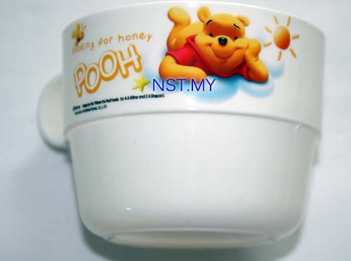 Winnie the Pooh Cup with handle (White)