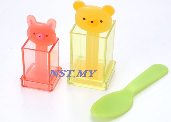 Cute Cube Rice Mould